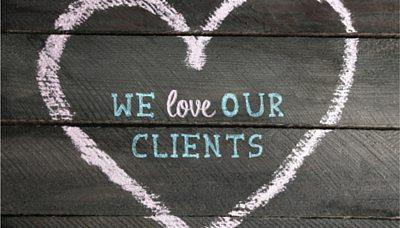 Wonderful financial planning clients