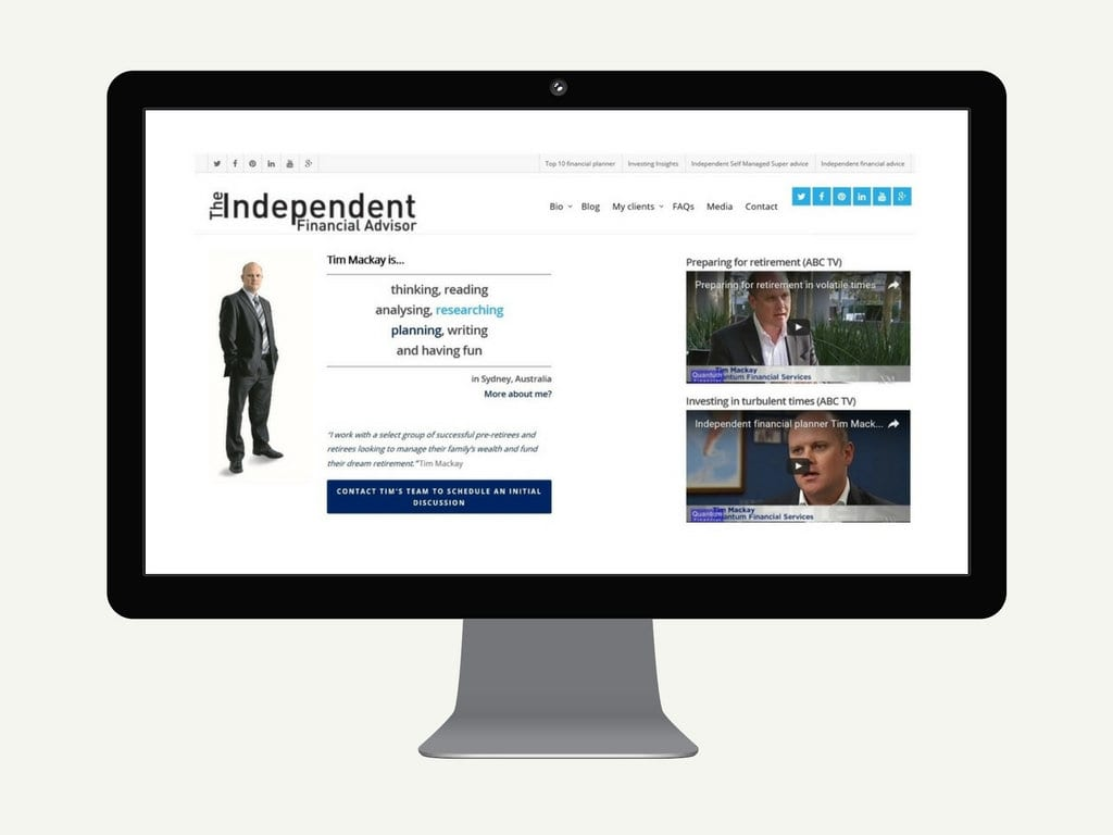 Tim Mackay The Independent Financial Advisor