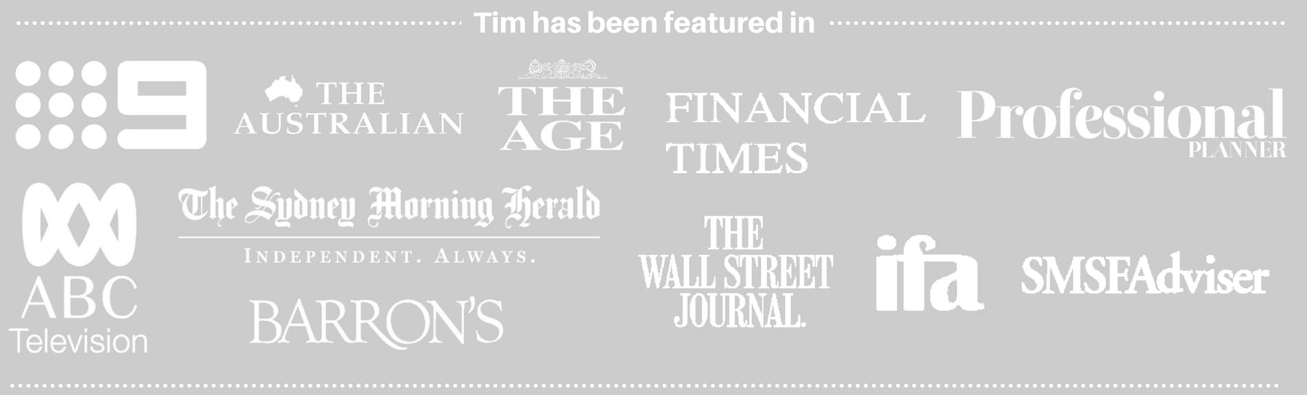 Independent Financial Advisor Tim Mackay Featured In the Media