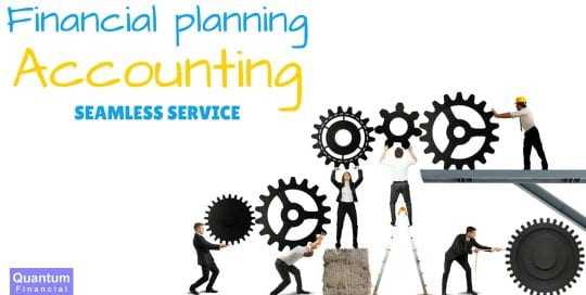 Financial planning accounting seamless service