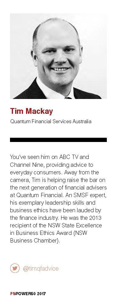 Most Influential Advisor in Australia